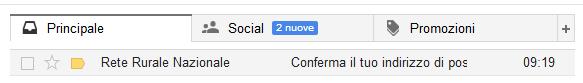 Dai conferma alla richiesta di Gmail