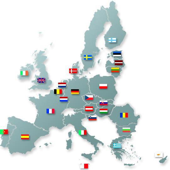 Cartina d'Europa