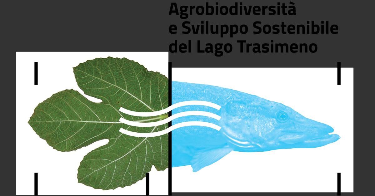 grafica pesce e foglie con titolo convegno