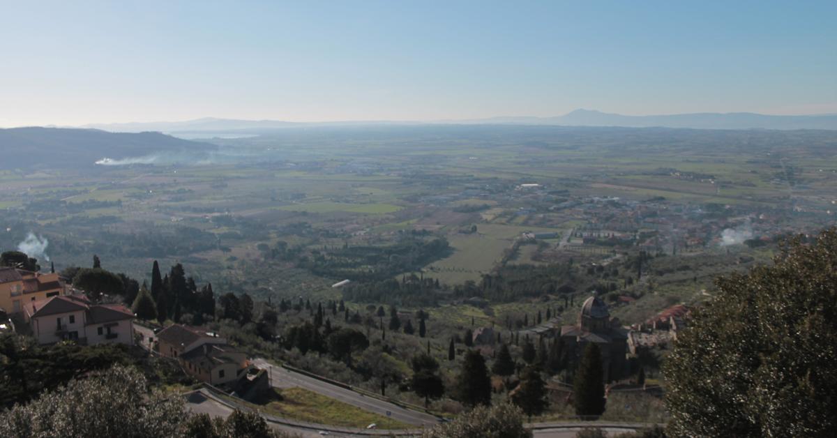 Gli uliveti a terrazze e lunette dei monti Lucretili