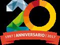 Logo GAL Prealpi e Dolomiti anniversario 20 anni