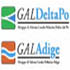Logo GAL Polesine Adige e GAL Delta del Po