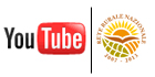 Logo Youtube e logo della Rete Rurale Nazionale