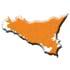 Cartina regione Sicilia