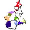cartina Regione Piemonte