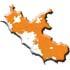 Cartina regione Lazio