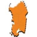 Cartina Regione Sardegna