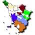 Cartina regione Toscana