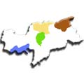 Cartina Provincia Autonoma di Bolzano