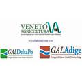 logo Veneto Agricoltura, GAL Delta Po, GAL Adige