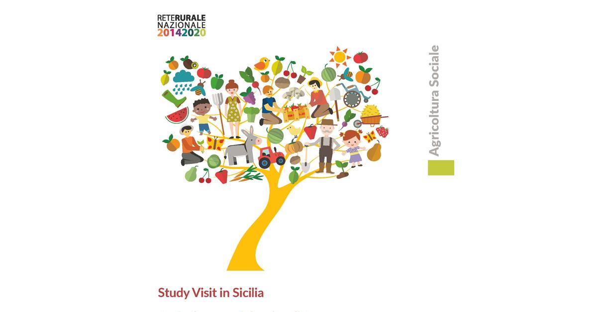 """Copertina Diario di Viaggio, Study Visit in Sicilia """"Agricoltura Sociale e Legalità"""""""