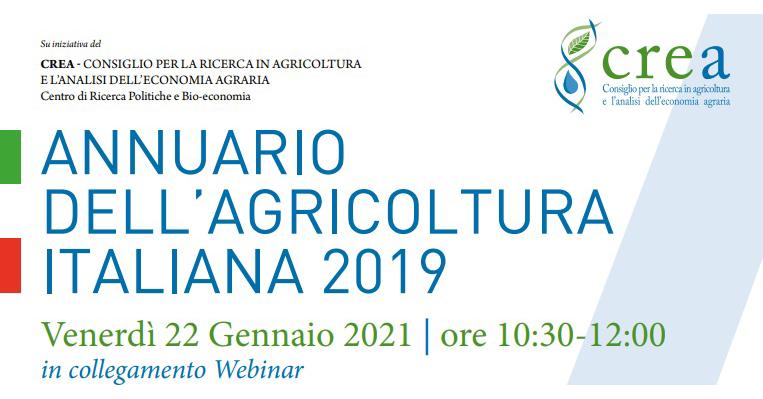 annuario agricoltura italiana 2019