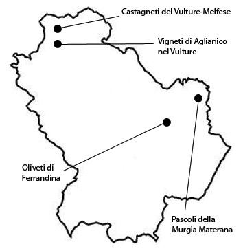 Registro nazionale paesaggi rurali storici - Basilicata
